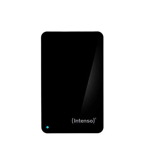 Intenso Memory Case 1 TB Externe Festplatte (6,35 cm (2,5 Zoll) 5400 U/min, 8 MB Cache, USB 3.0) schwarz