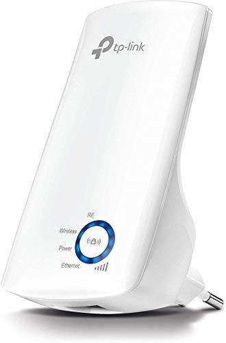 TP-Link TL-WA850RE WLAN Verstärker Repeater(300 Mbit/s, WLAN Verstärker, App Steuerung, Ethernet-Port, WPS, AP Modus, LED abschaltbar, kompatibel zu allen WLAN Geräten) weiß