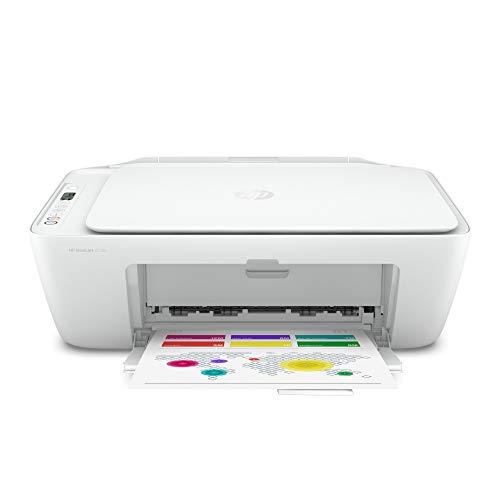HP DeskJet 2720 Multifunktionsdrucker (Instant Ink, Drucker, Scanner, Kopierer, WLAN, Airprint) mit 2 Probemonaten Instant Ink inklusive, grau