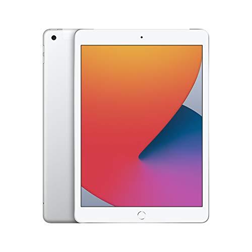 Apple iPad (10,2', 8. Generation, Wi-Fi + Cellular, 128GB) - Silber (2020)