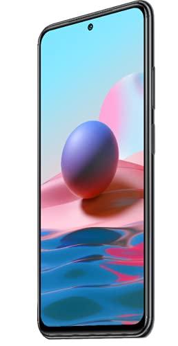 Xiaomi Redmi Note 10 Smartphone RAM 4GB ROM 128GB 6.43' AMOLED DotDisplay 5000mAh (typ) Batterie 33W Schnellladung 48MP Wide-Angle Kamera Grau [Globale Version]