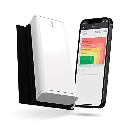 QardioArm Blutdruckmessgerät: Medizinisch genaue, benutzerfreundliche, kompakte digitale Oberarmmanschette. App für iOS, Android und Kindle verfügbar