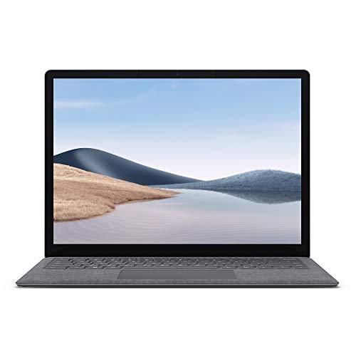 Microsoft Surface Laptop 4, 13,5 Zoll Laptop (Ryzen 5se, 8GB RAM, 256GB SSD, Win 10 Home) Platin