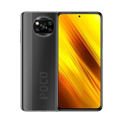 Xiaomi POCO X3 NFC - Smartphone 6 + 128 GB, 6,67 Zoll FHD+ Punch-hole Display, Snapdragon 732G, 64 MP AI Quad-Kamera, 5.160 mAh, Shadow Gray (Offizielle Version + 2 Jahre Garantie)   M2007J20CG