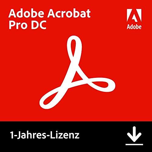 Adobe Acrobat Pro DC | Pro | 1 Jahr | PC/Mac | Download