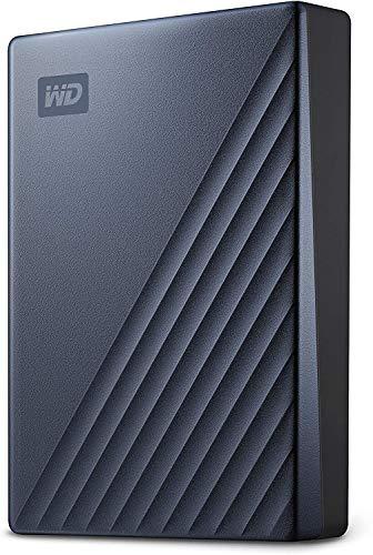 Western Digital WD My Passport Ultra externe Festplatte 2 TB (mobiler Speicher, Metallgehäuse, WD Discovery Software, automatische Backups, Passwortschutz) Blau - auch kompatibel mit PC, Xbox und PS4