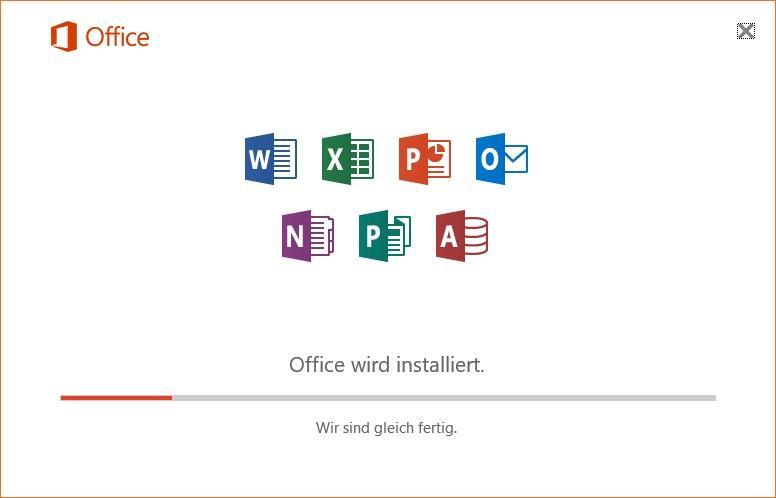 Office 365 installieren