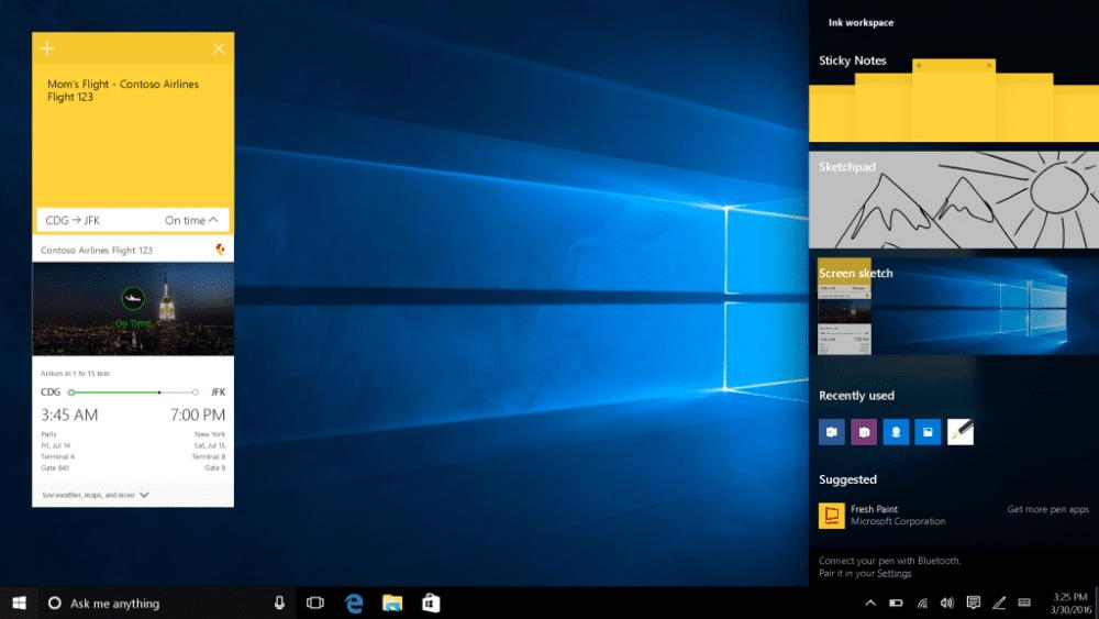 Windows Ink im Windows 10 Anniversary Update