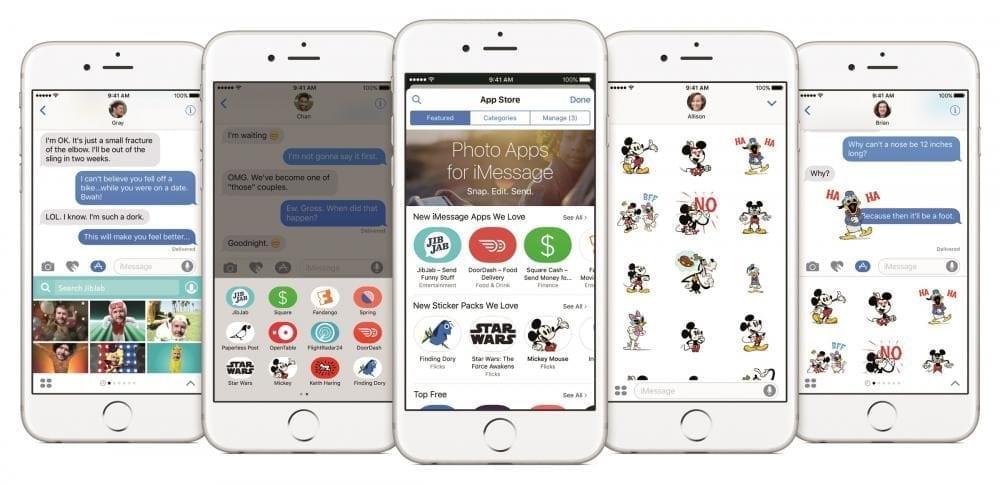 iOS 10 Lockup Apps