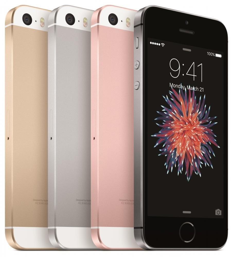 iPhone SE in verschiedenen Farben
