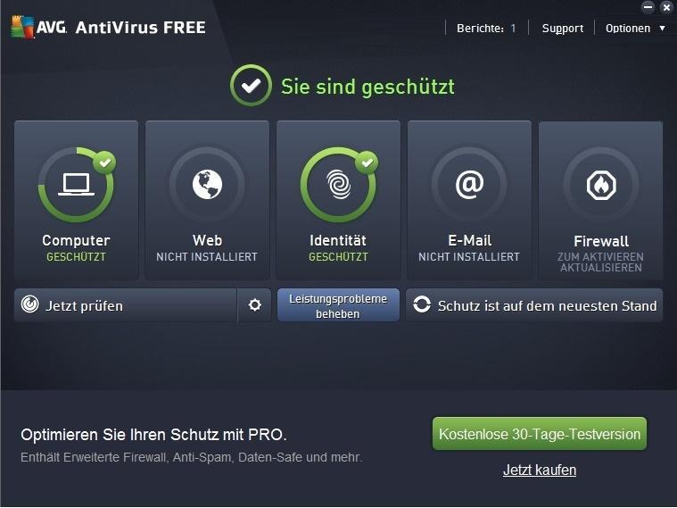 AVG Anti-Virus Free Edition 2016