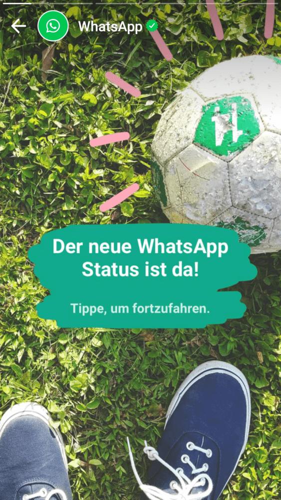 Whatsapp Status Erstellen Und Mit Freunden Teilen Pcshowde
