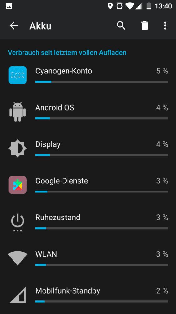 Android Akku plötzlich schnell leer - Akkuverbrauch prüfen