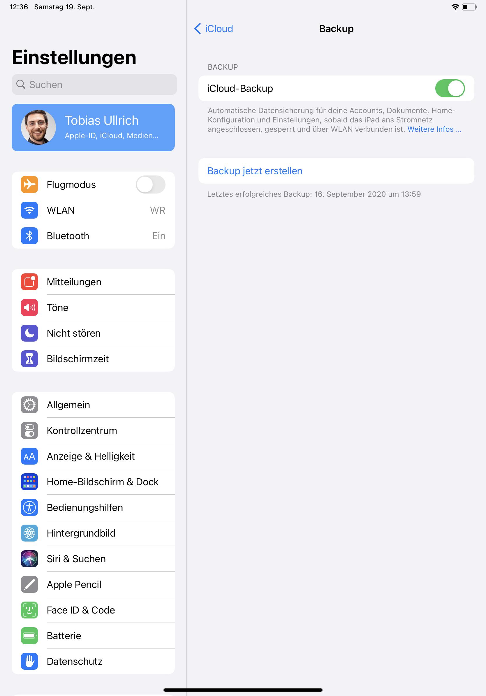 iPad Daten sichern leicht gemacht