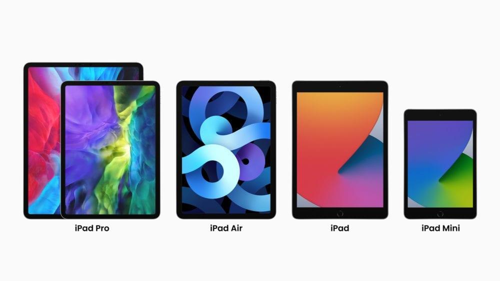 Alle Tablets von Apple in 2020 im Vergleich